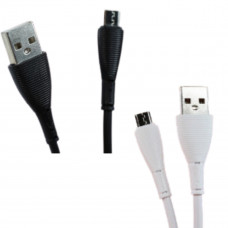 CABO DE DADOS USB V8 - IT BLUE - BRANCO/PRETO